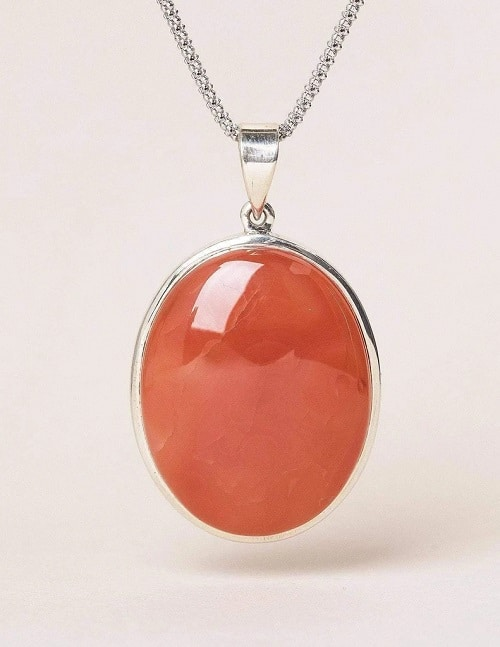 Best Crystals for Root Chakra carnelian pendant