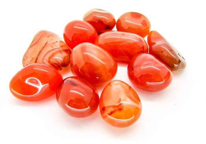 Best Crystals for Root Chakra carnelian