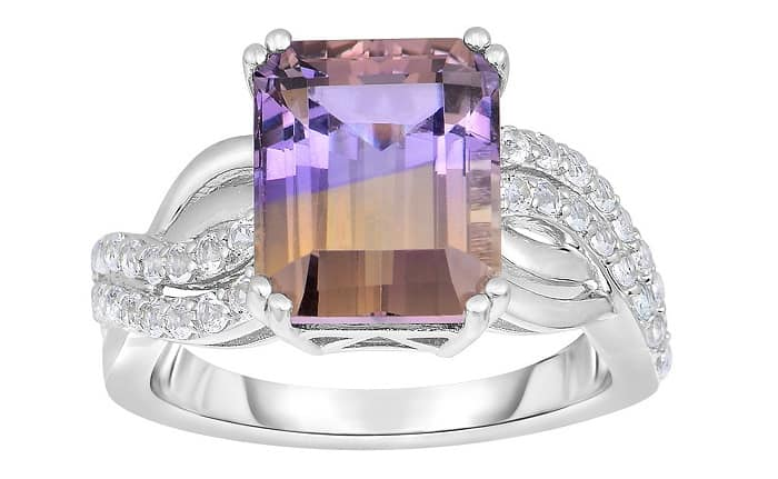 List Popular Gemstones Ametrine ring