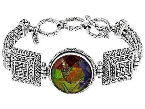 List Popular Gemstones Ammolite bracelet