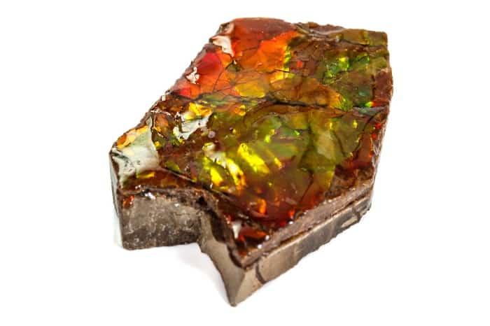 List Popular Gemstones Ammolite