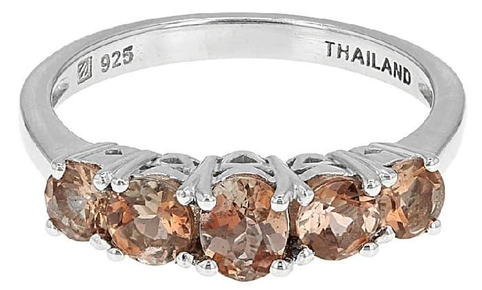 List Popular Gemstones Andalusite ring