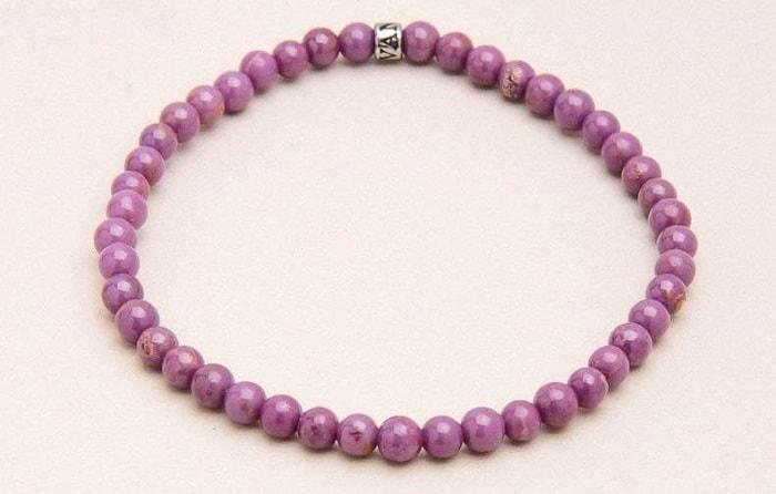 List Popular Gemstones Lepidolite bracelet