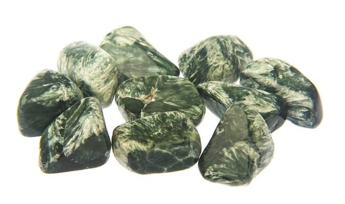 List Popular Gemstones Seraphinite
