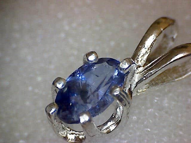 List Popular Gemstones benitoite pendant
