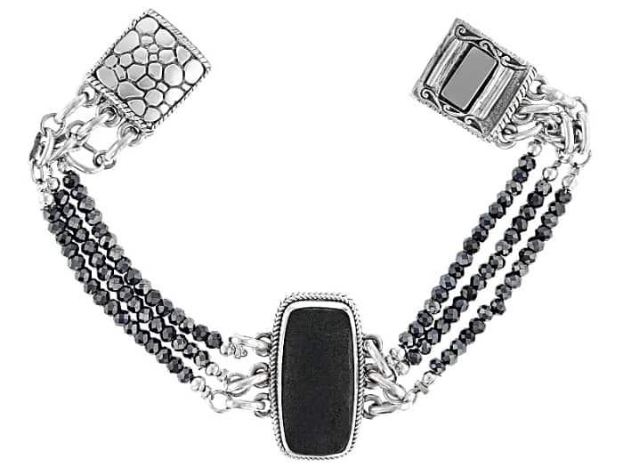 List Popular Gemstones lava rock bracelet