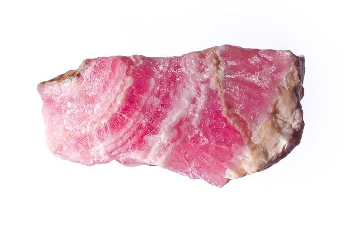 Pink Gemstones List Rhodocrosite