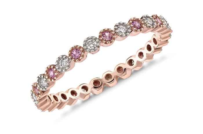 Pink Gemstones List pink sapphire ring 14k rose gold