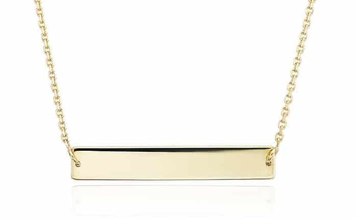 Necklace Length types choker 14k yellow gold