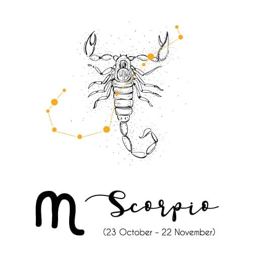 November birthstones Scorpio