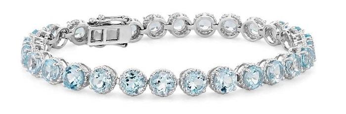 November birthstones topaz bracelet