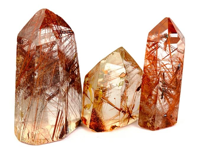 Rutilated quartz meaning health