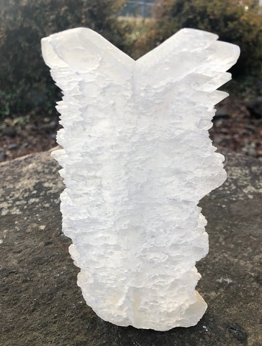 Selenite healing properties fishtail selenite