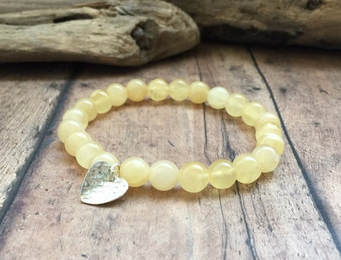 Selenite healing properties golden selenite bracelet