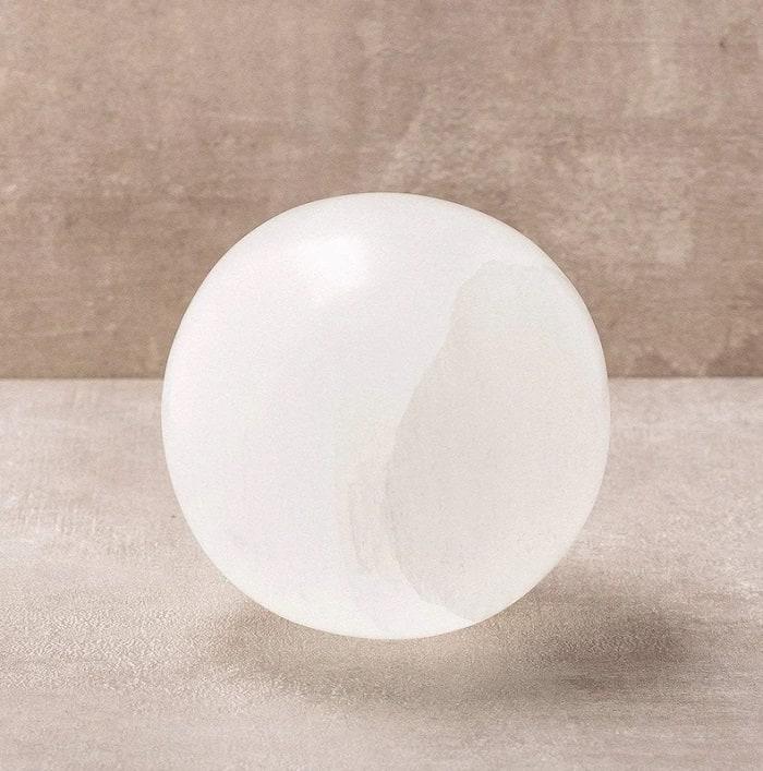 Selenite healing properties sphere