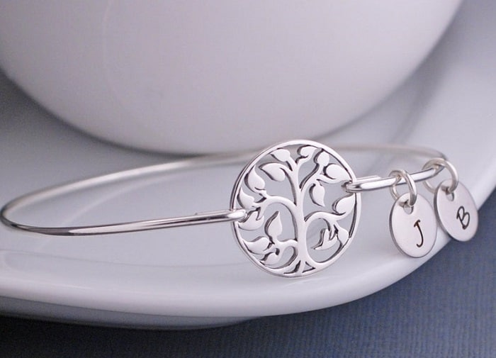 Tree of Life Sterling Silver Bracelet