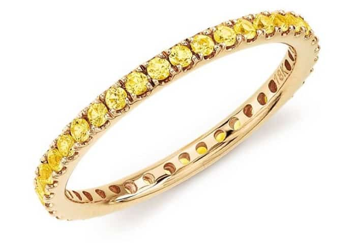 Yellow Gemstones Yellow Sapphire ring