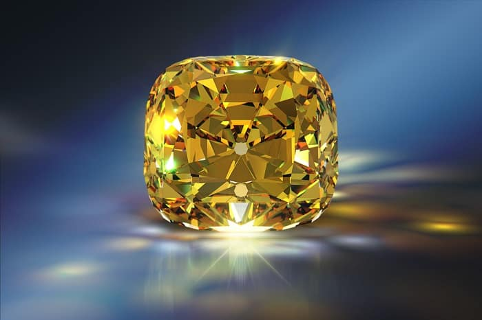 Yellow Gemstones yellow diamond