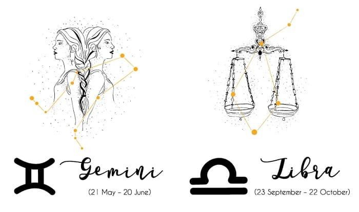 gemini and libra