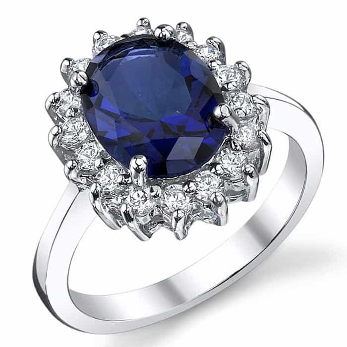 september birthstone sapphire engagement ring
