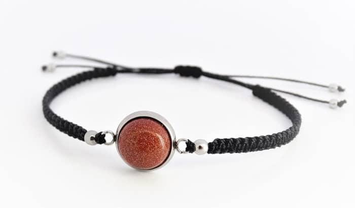 Best Sacral Chakra Stones goldstone bracelet