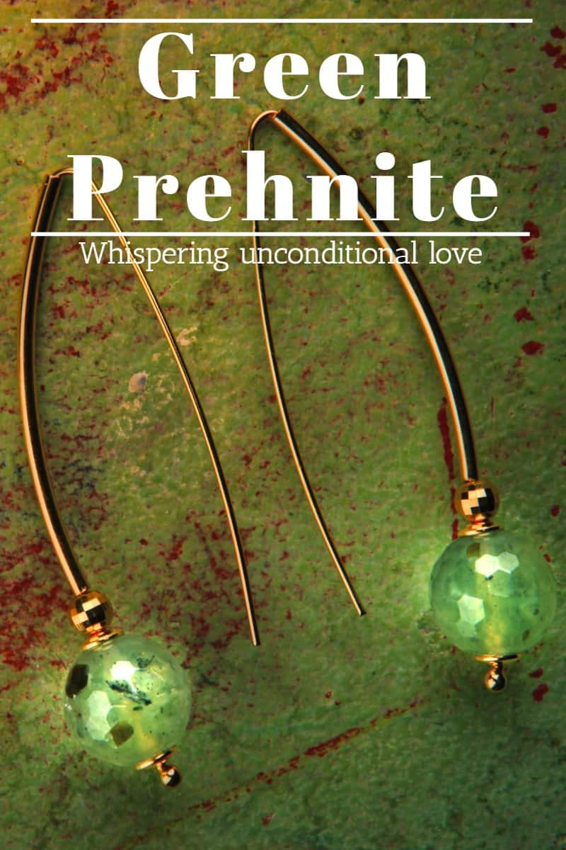 Healing power of prehnite share