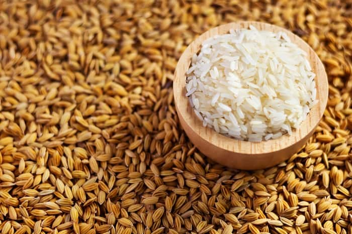 how to cleanse crystals rice