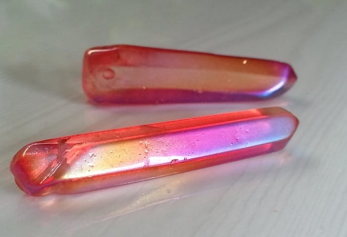 Aura quartz healing properties ruby