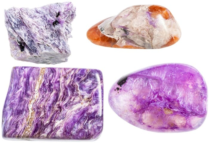 Charoite Meaning raw