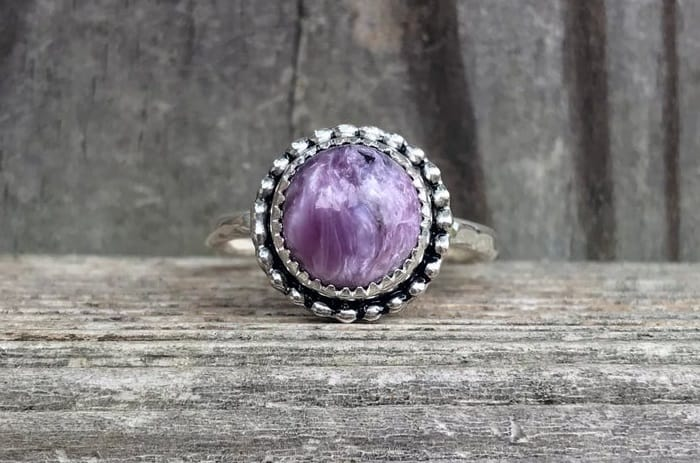 Charoite Meaning ring