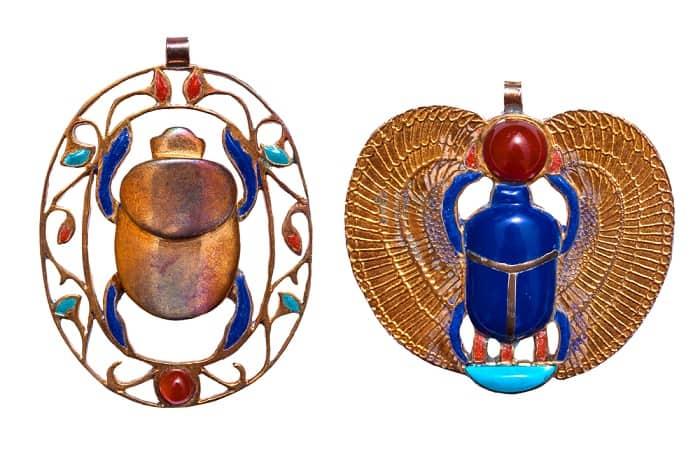 Lapis Lazuli meaning scarab