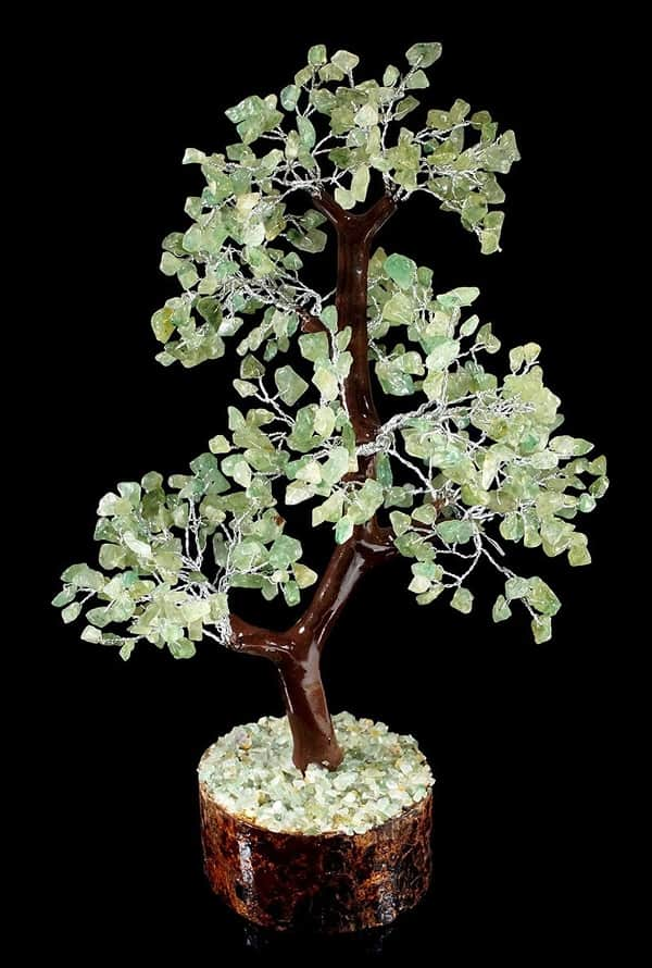 Aventurine tree of life