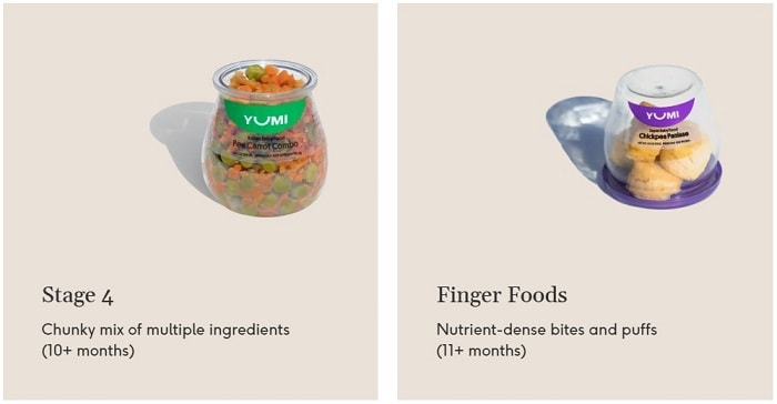 Finger Foods for Babies Aged 6 to 12 months yumi