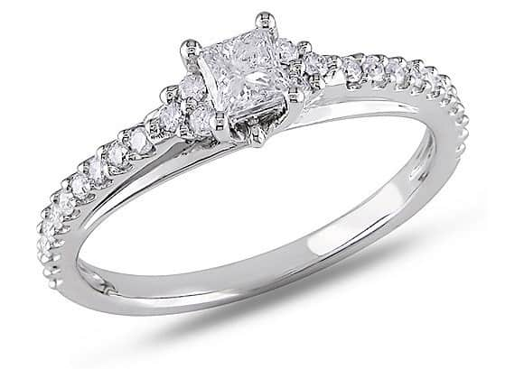 cheap engagement rings walmart Miabella