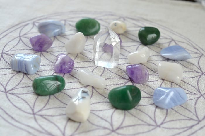 crystal grid stones