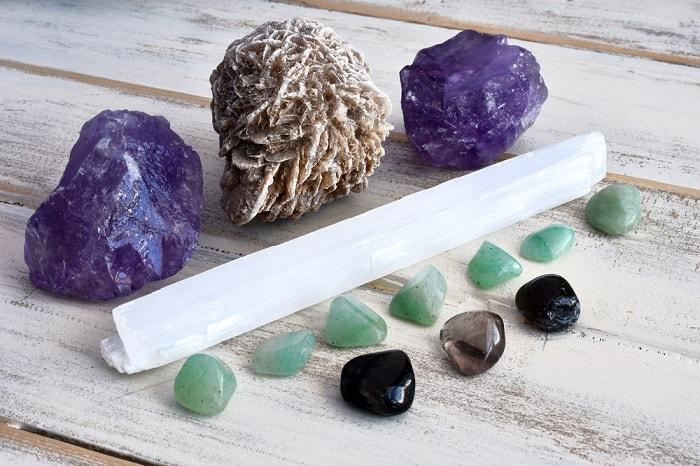 crystal grid wand